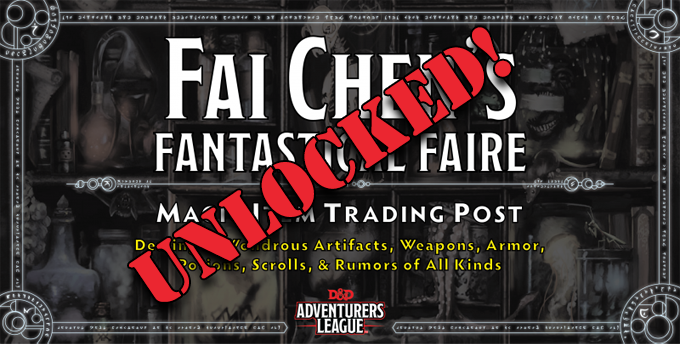 Fai Chen's Fantastical Faire - UNLOCKED!