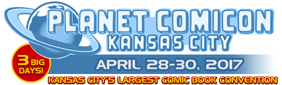 planet comicon 2017 logo